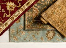 A Twist on Traditional Room-Changing Rugs