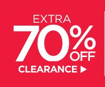 EXTRA 70% OFF CLEARANCE