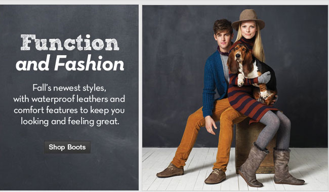 Function and Fashion