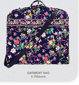 Garment Bag in Ribbons