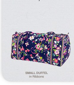 Small Duffel in Ribbons