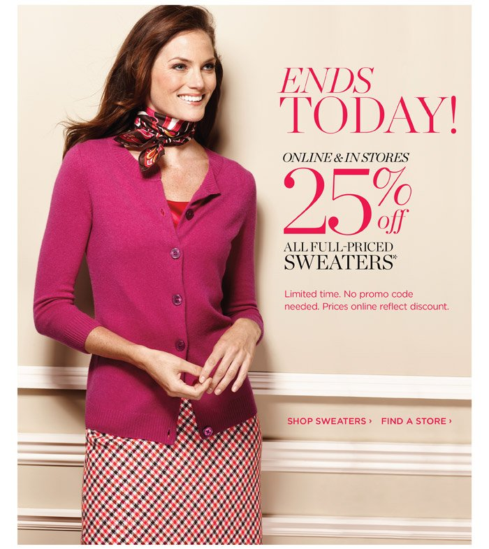 Talbots - Classic clothing including petites and women's sizes, accessories, shoes and more.