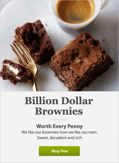 Billion Dollar Brownies - Shop Now