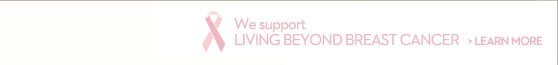 We support Living Beyond Breast Cancer  