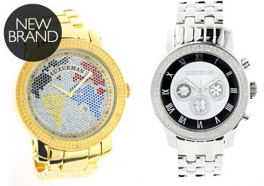 Shop Diamond Watches: Luxurman & Centorum