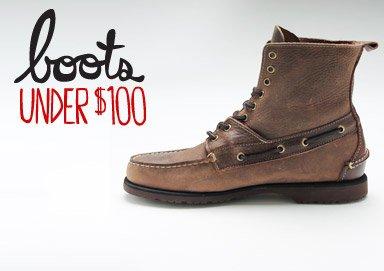 Shop Boots Under $100