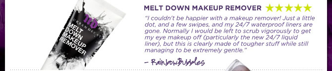 Melt Down Makeup Remover