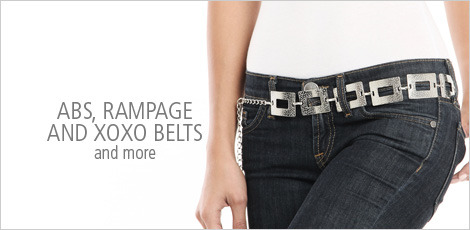 ABS, Rampage and xoxo belts