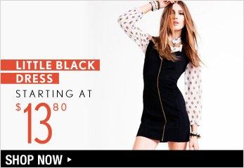 Little Black Dress Starting at $13.80 - Shop Now