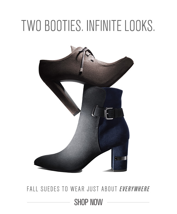 Two Booties, Infinite Looks