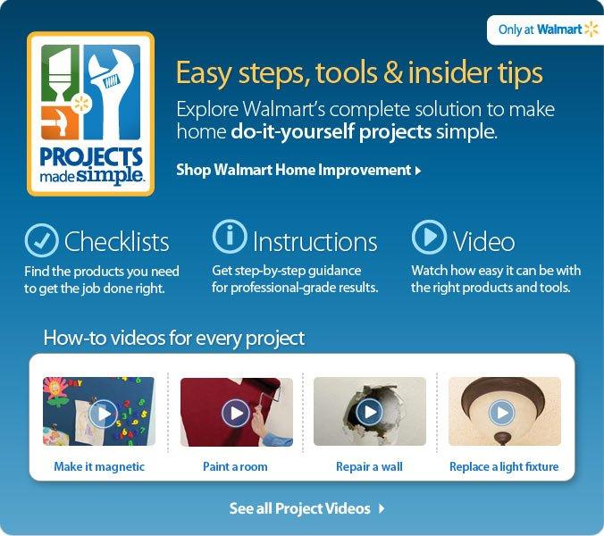 Shop Walmart Home Improvement
