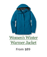 Winter Warmer Jacket, from $89
