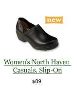 Women's NEW North Haven Casuals, Slip-On, $89