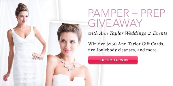 Pamper + Prep Giveaway. Enter to Win.