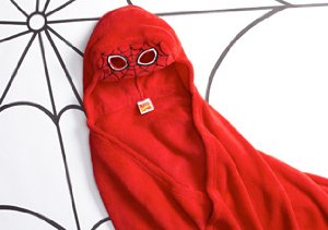 Batman, Spiderman & Thomas: Hooded Blankets