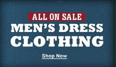 All on Sale Men's Dress Clothing