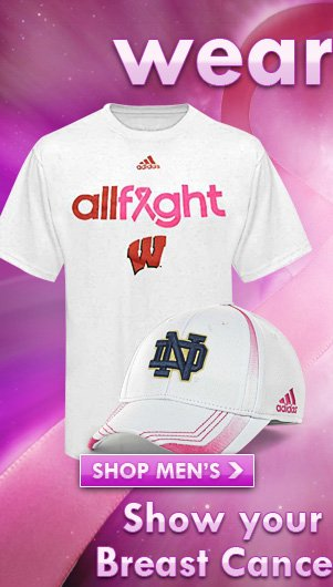 Wear pink and show your support for Breast Cancer Awareness.