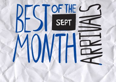 Shop Best of the Month: Arrivals