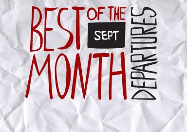 Shop Best of the Month: Departures