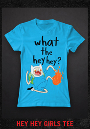 HEY HEY GIRLS TEE