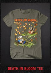 DEATH IN BLOOM TEE