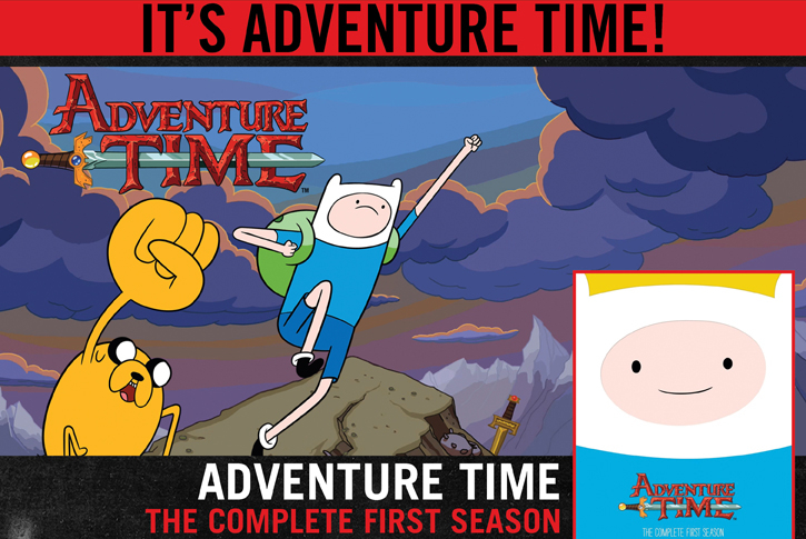 ADVENTURE TIME THE COMPLETE FIRST SEASON