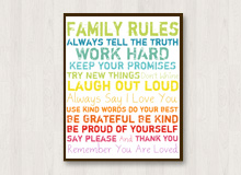 Word Play Inspirational Wall Art