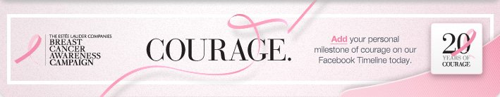 courage. breast cancer 