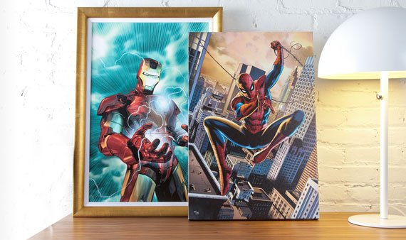 Marvel Fine Art  - Visit Event