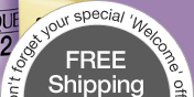Don't forget your special 'Welcome' offer. FREE Shipping with any purchase. Offer code SKIN