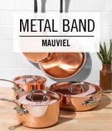 Metal Band. Mauviel.