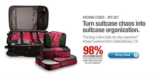 Shop Packing Cubes