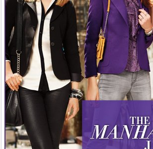 The Manhattan Jacket…NY's latest love. Plus, use your $70 coupon, in stores & online. Go now