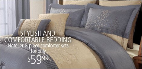 STYLISH AND COMFORTABLE BEDDING