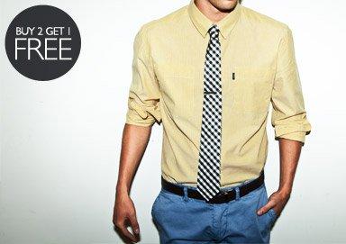 Shop Buy 2, Get 1 Free Ties