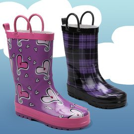 Puddle Splashers: Kids' Rain Boots