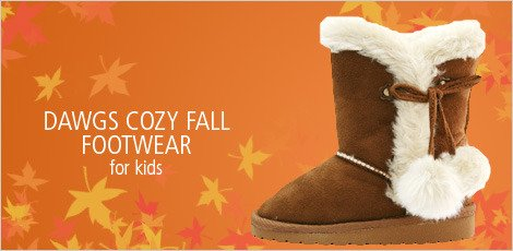 DAWGS COZY FALL FOOTWEAR