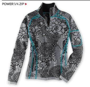 Power 1/4 Zip >