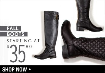 Fall Boots Starting at $35.80 - Shop Now