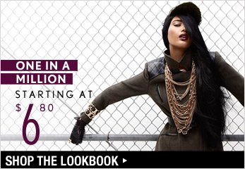 One in a Million Starting at $6.80 - Shop The Lookbook