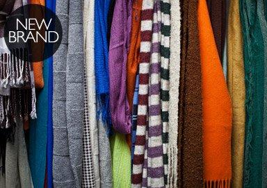 Shop Layer Up: Pur Cashmere Scarves