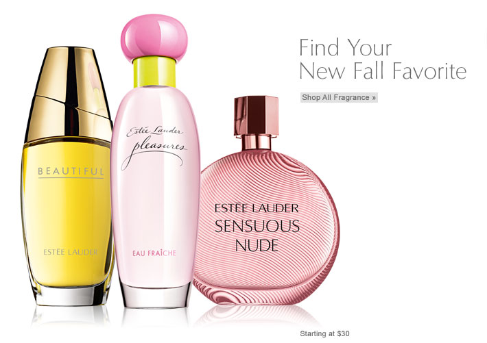 Find Your  New Fall Favorite  Shop All Fragrance » Starting at $30