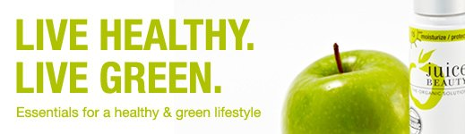 Live a Green & Healthy Lifestyle