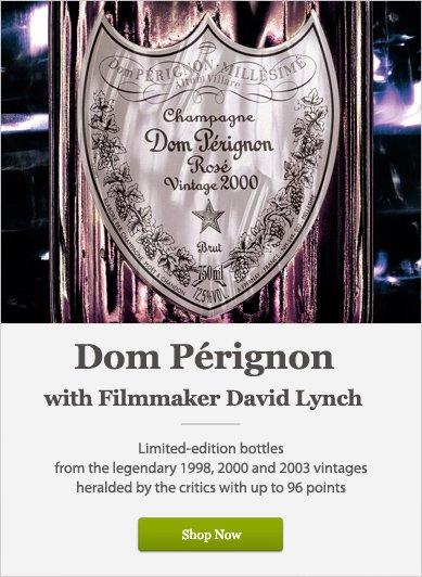 Dom Pérignon with Filmmaker David Lynch - Shop Now
