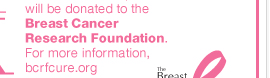 $2 from the sale of each NY&C Pink product will be donated to the Breast Cancer Research Foundation. THINK PINK.