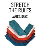 Stretch the Rules. James Jeans.