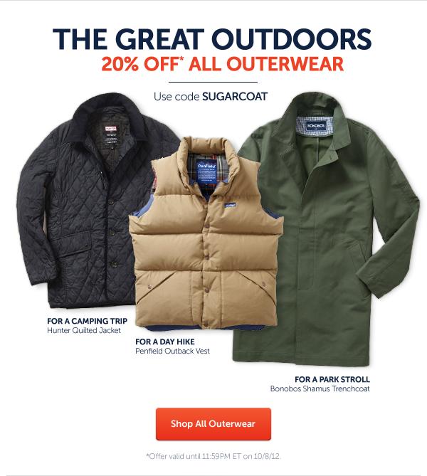 Weekend Agenda: Outerwear