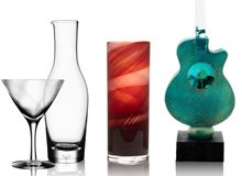 From the Glassblowing Studio Kosta Boda & Orrefors