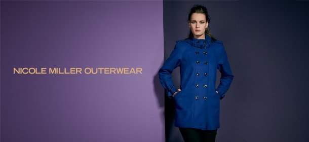 NICOLE MILLER OUTERWEAR, Event Ends October 9, 9:00 AM PT >