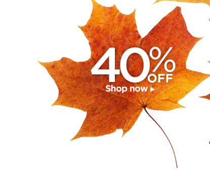 40% OFF – Shop now!